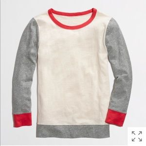 J.crew colorblock painter tee